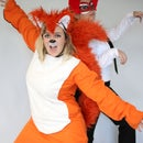 """Homemade """"What Does the Fox Say"""" costume"""