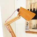 How to Make a Wooden Lamp (from Easel)
