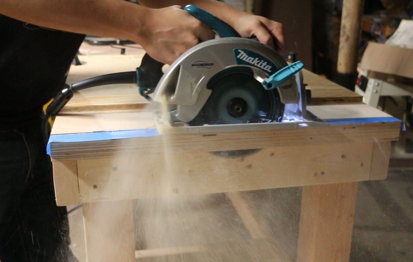 Cut Plywood to Size & Mark Notches