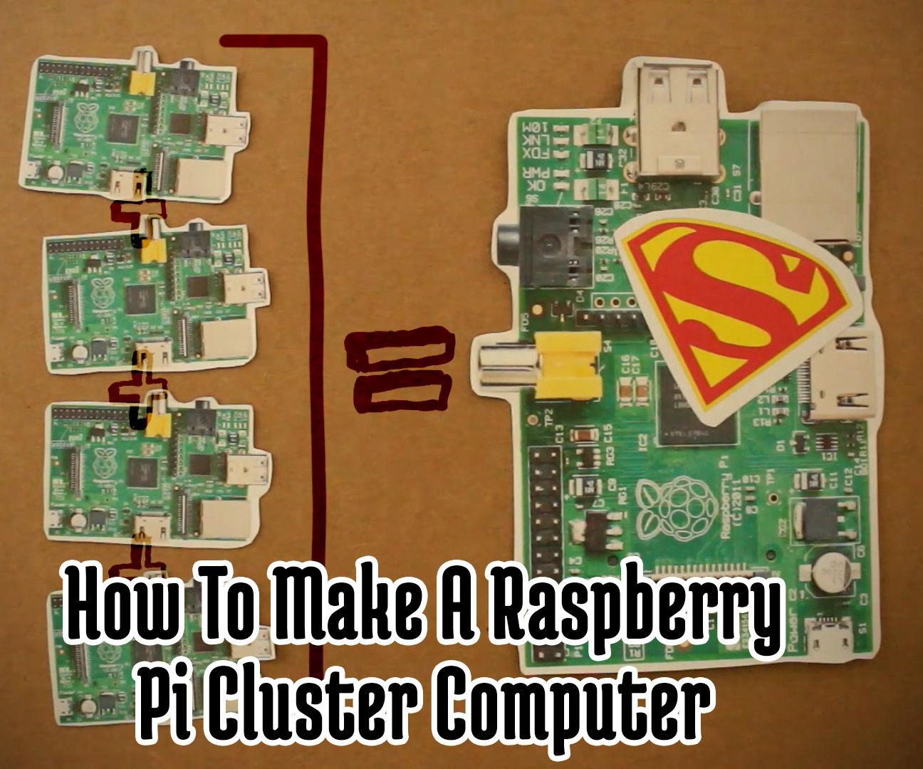 How To Make A Raspberry Pi SuperComputer!