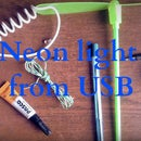 Neon light from USB