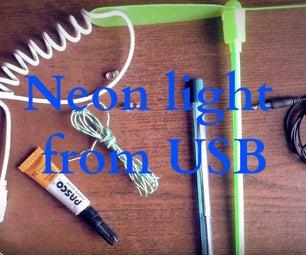 Neon Light From USB