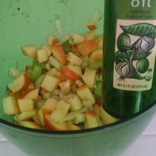 Fennel Salad With Apples & Oranges