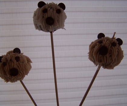 How to Make Teddy Bear Cake Pops
