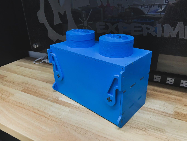 Custom Lego Brick Storage Container