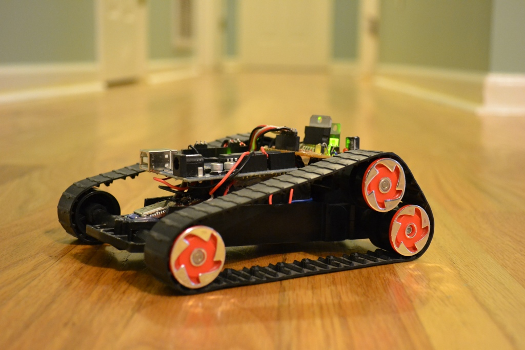 Arduino controlled Bluetooth-bot