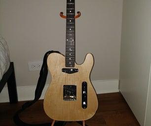 建造一把电吉他作为初学者