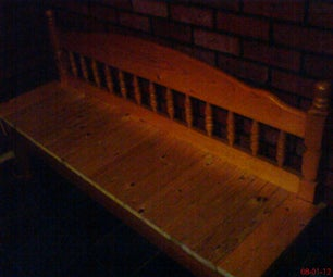 My Wooden Bed Bench