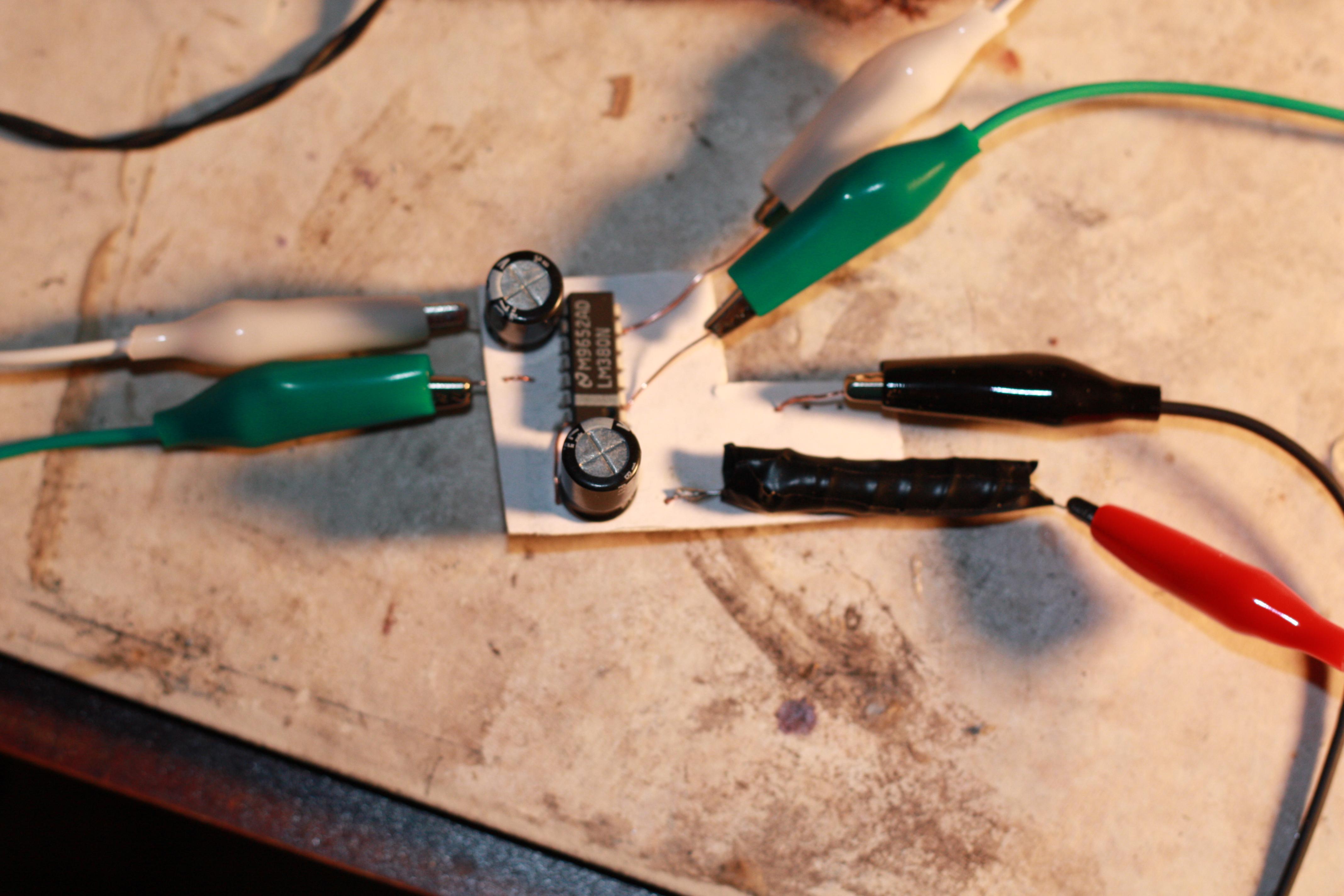 2 Watt LM380 Chip Amp