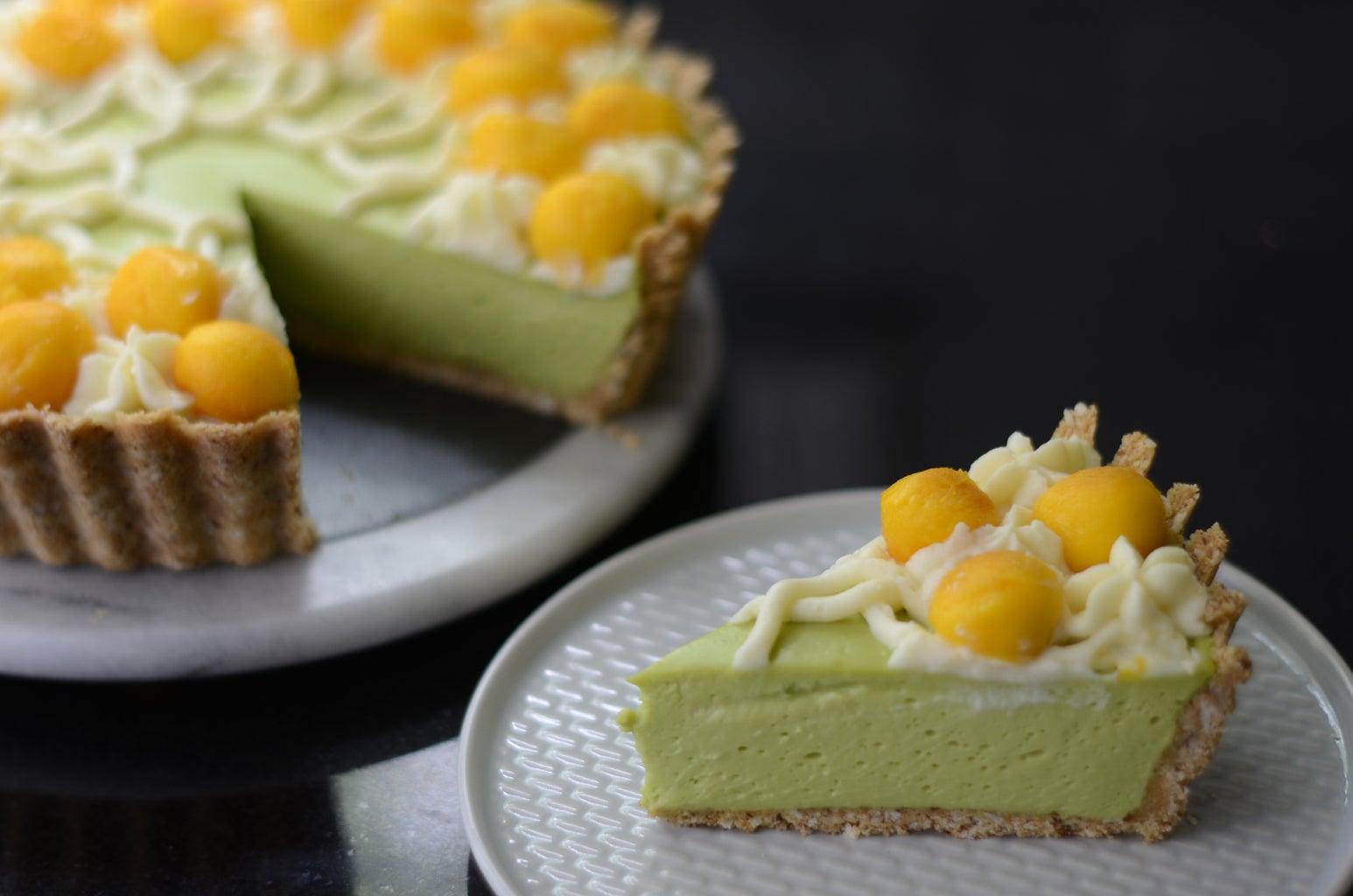 Avocado Tropical Pie