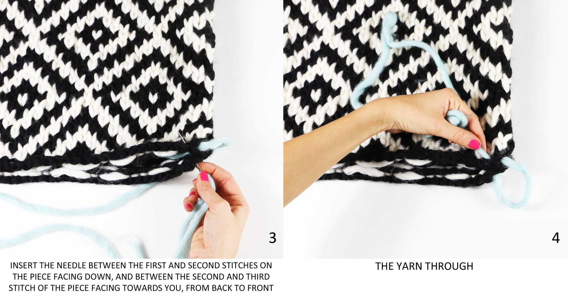 Sew the Bottom of the Pillow