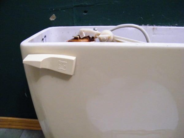 Make a Free Water Saving 2 Flush Toilet