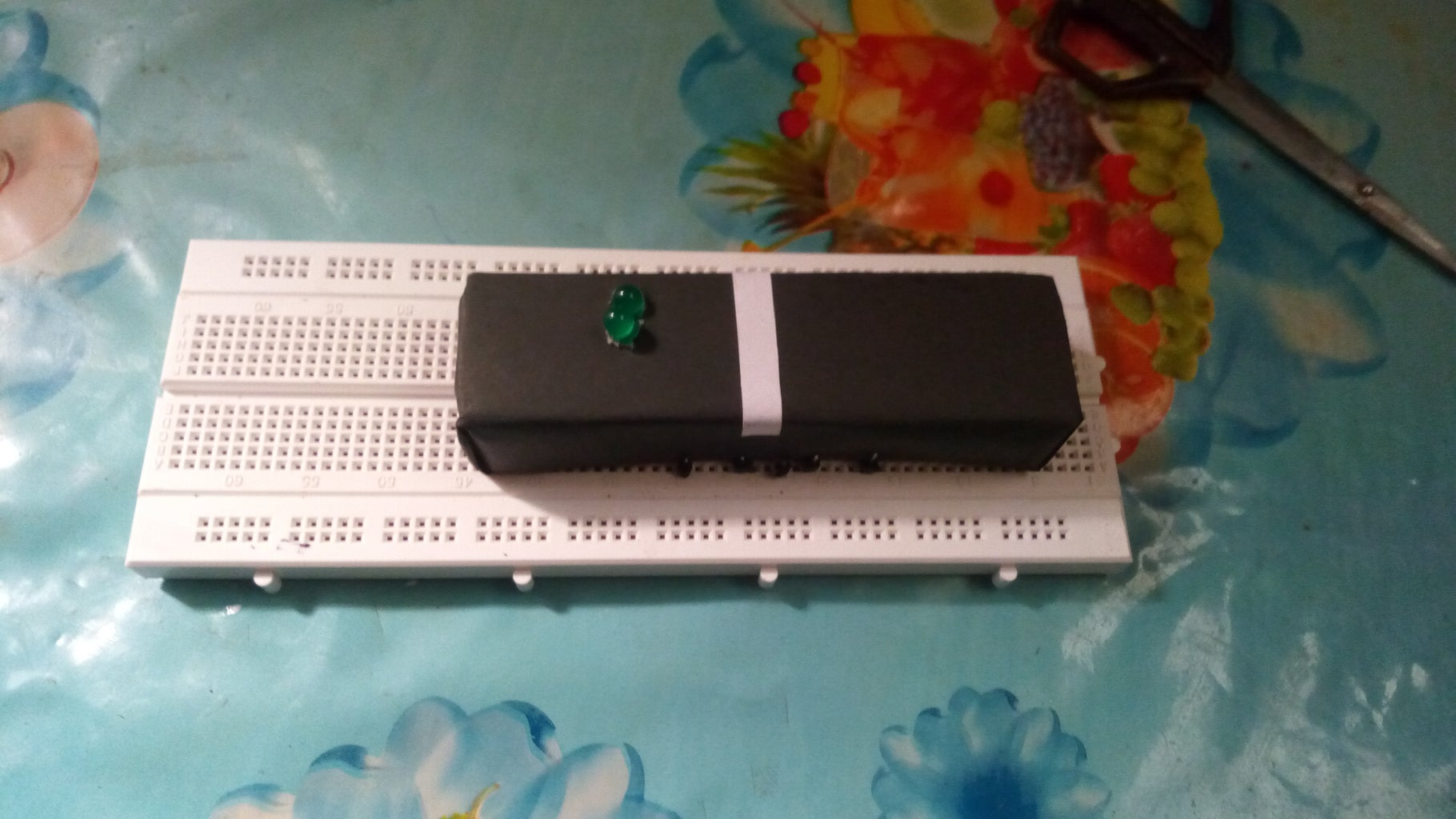 Puzzle Using Electronics Circuit.