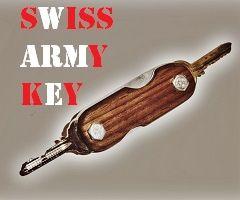 DIY Swiss Army Key Holder by BCDesign01