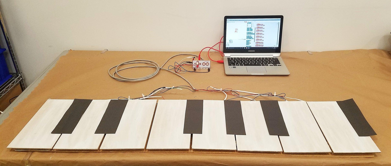 Build an (Easy) Floor Piano!