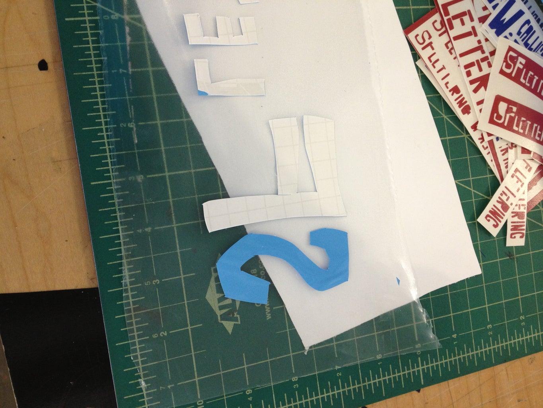 Cut Letters