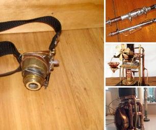 Steampunk Weapons N Gear