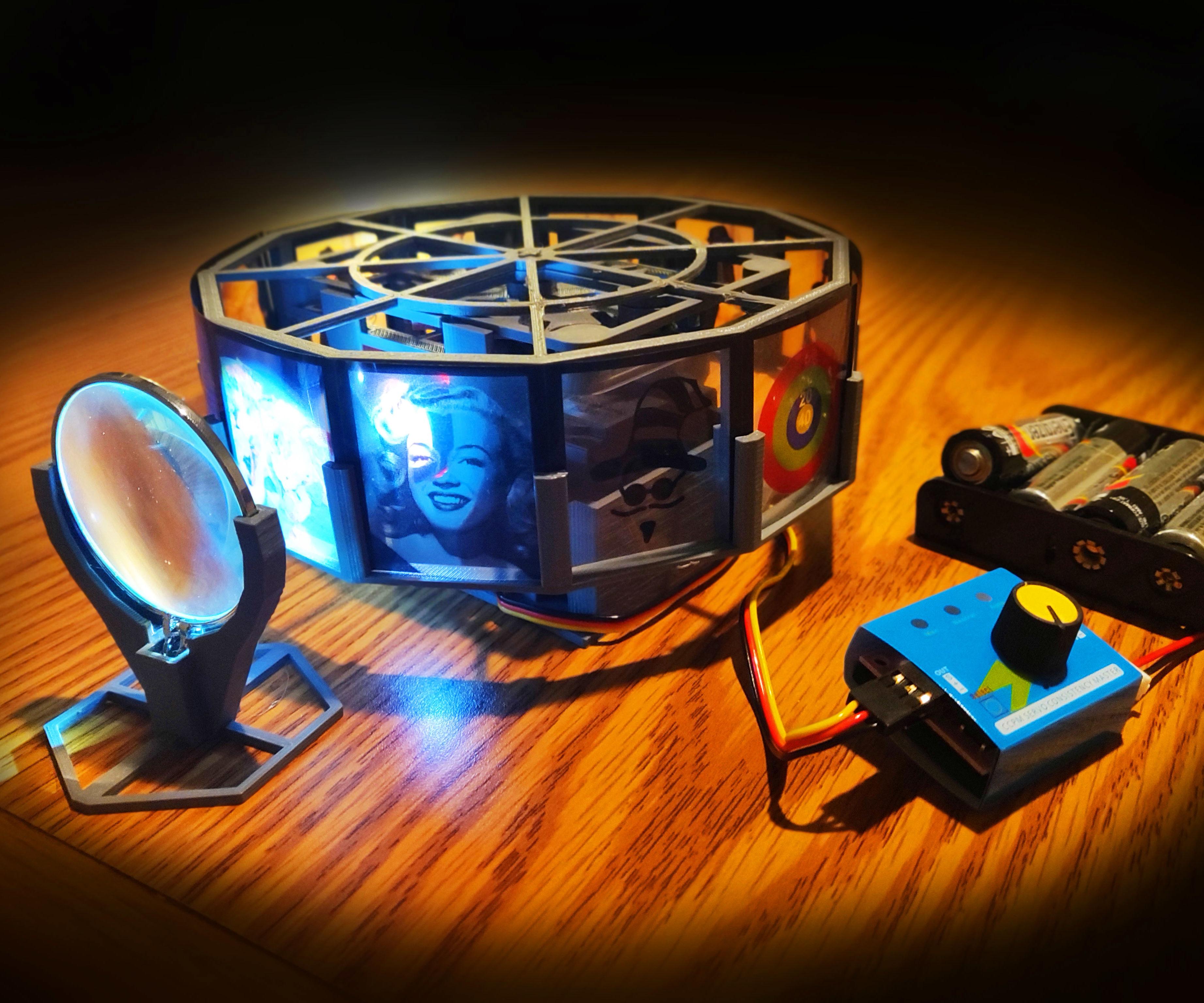 3D Printed Projector   Geneva Drive