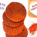 KETO ROTI (KETO CHAPATI) | INDIAN KETO RECIPE | 5-Minute Kitchen