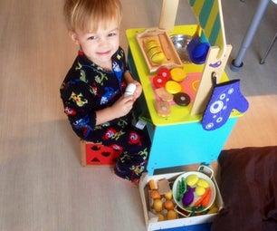 Foodstuffs for Children's Kitchen