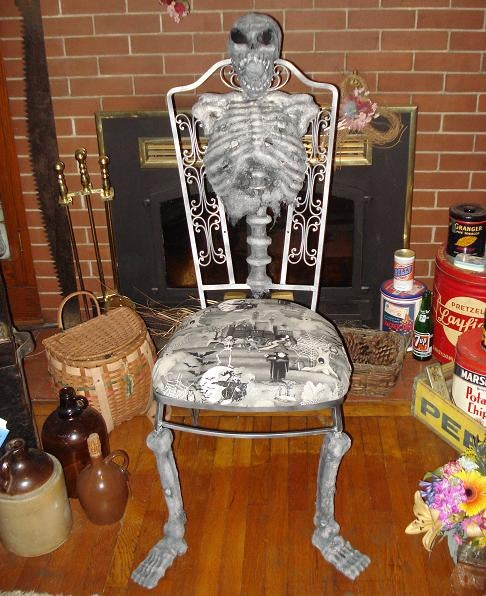 Screamin Skelly Chair