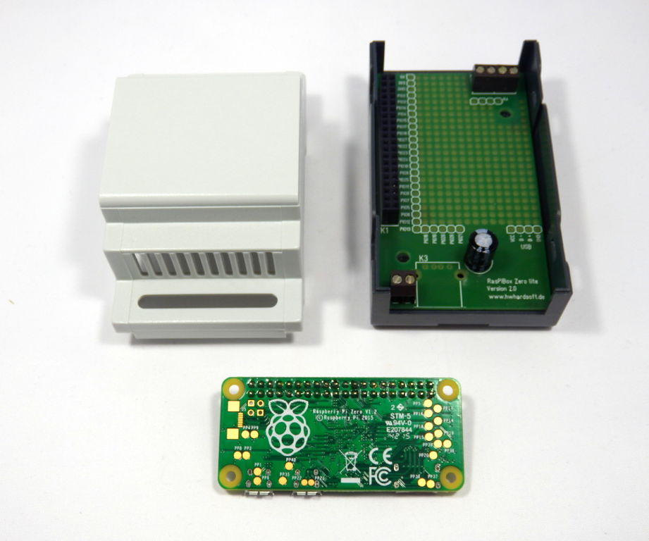 Raspberry Pi Zero - Din Rail Enclosure