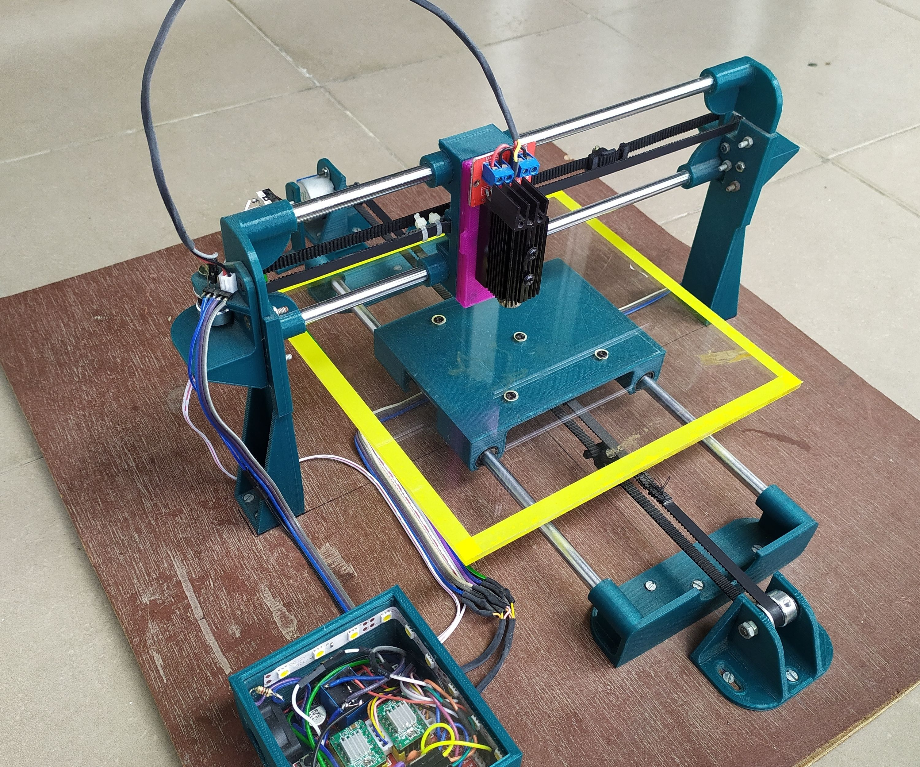 DESIGN AND BUILD a WIRELESS LASER ENGRAVER CUM PEN PLOTTER USING FUSION 360 AND 3D PRINTING
