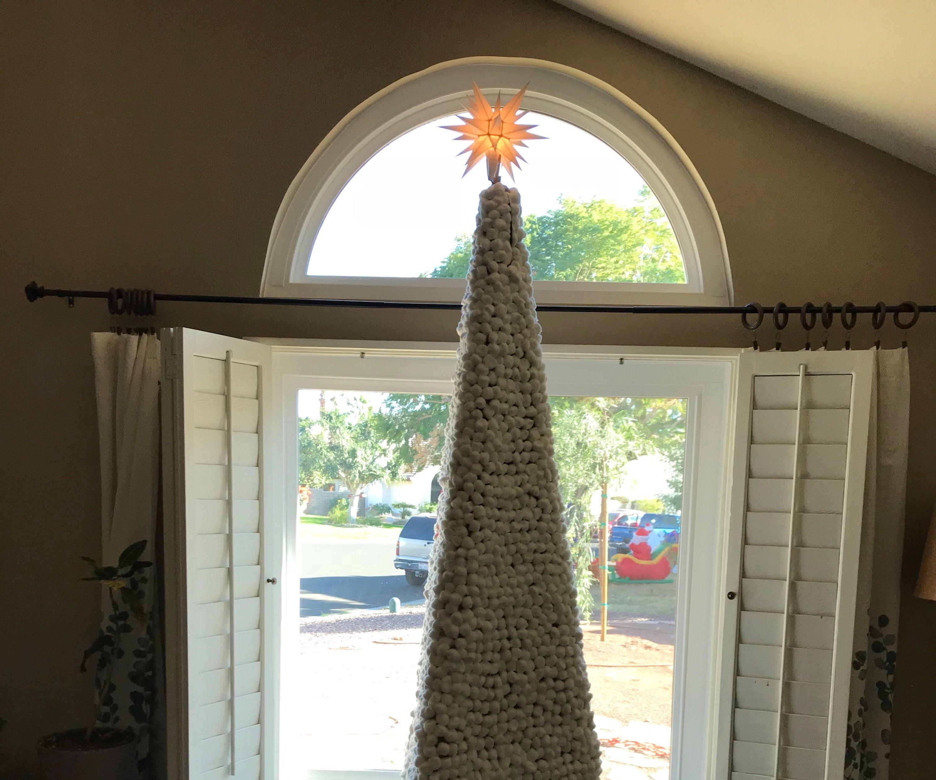 Cotton Ball Christmas Tree 2017