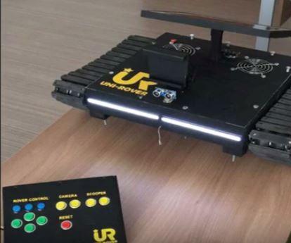 Uni-Rover   skype controlled telepresence robot tank