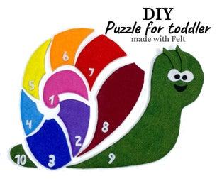 Colourful Snail Puzzle