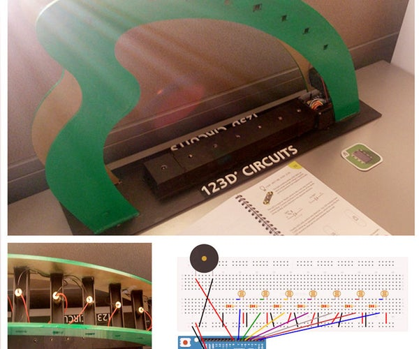 Laser Harp With 123D Circuits