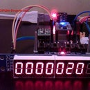 MAX7219 - 8 Digit LED Display Module Driver for ESP8266
