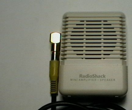 Modify The Radio Shack Mini Amplifier to Power a Condenser Microphone Element