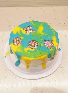 Easy Rainbow Cake