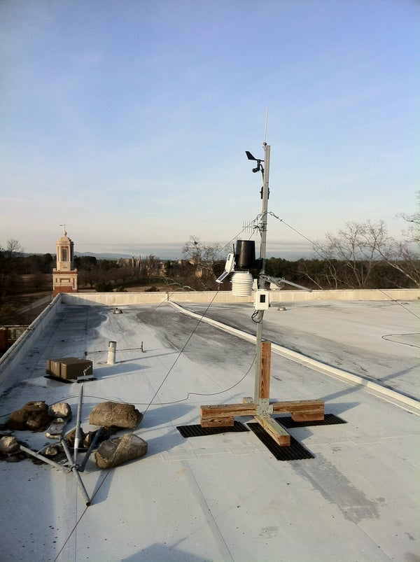 Weather Station Roof Mount