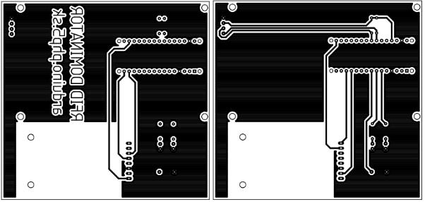 PCB Design for RFID DOMINATOR