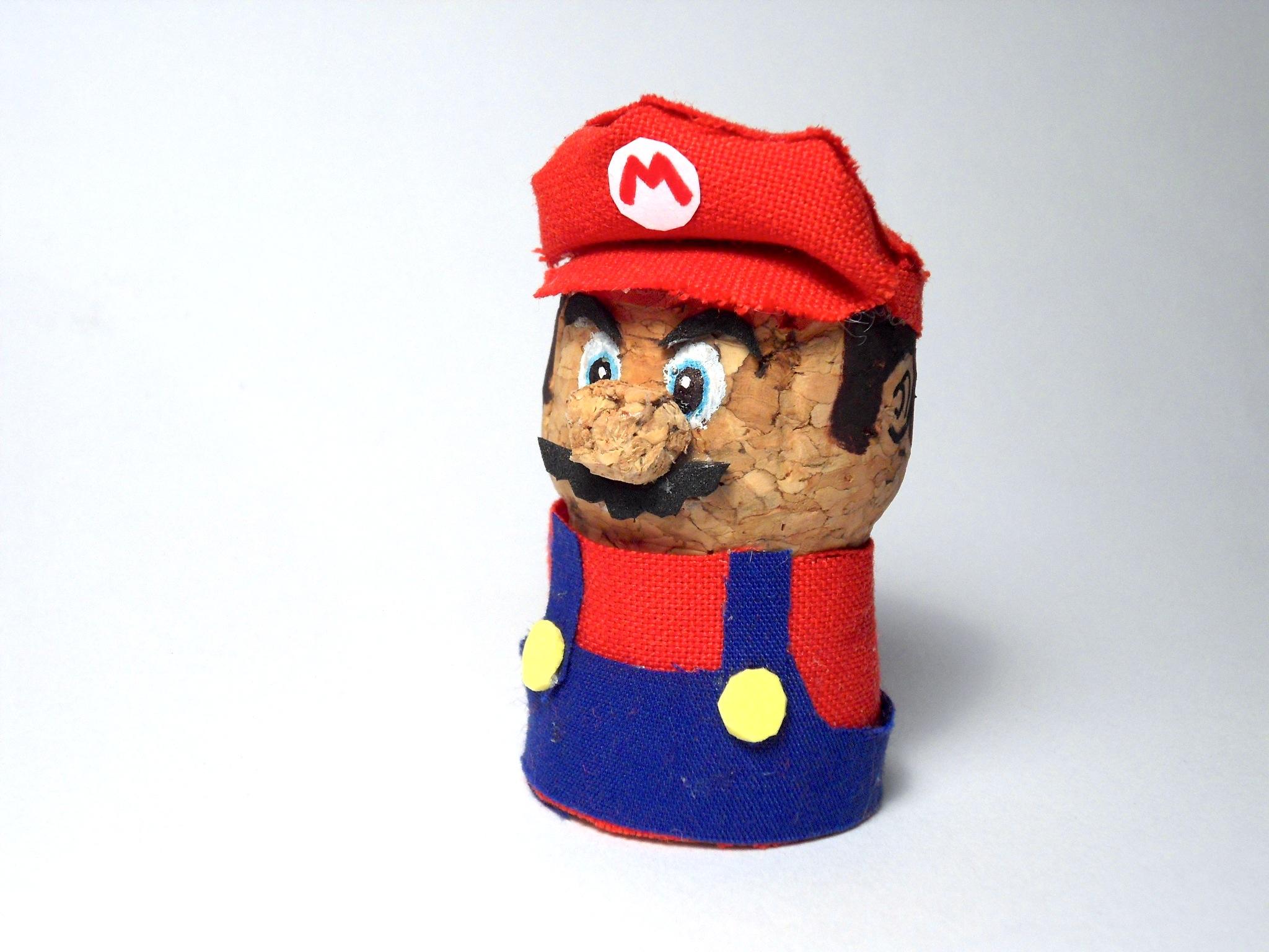 Champagne Cork Mario