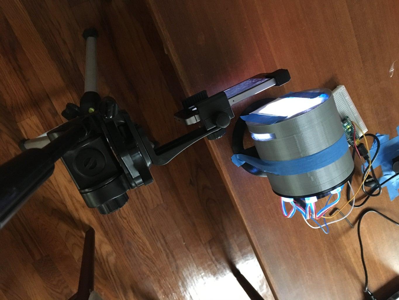 Smart Phone Fluorescence Microscope
