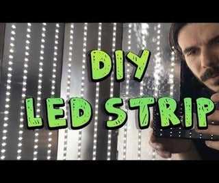 DIY LED Strip: How to Cut, Connect, Solder and Power LED Strip