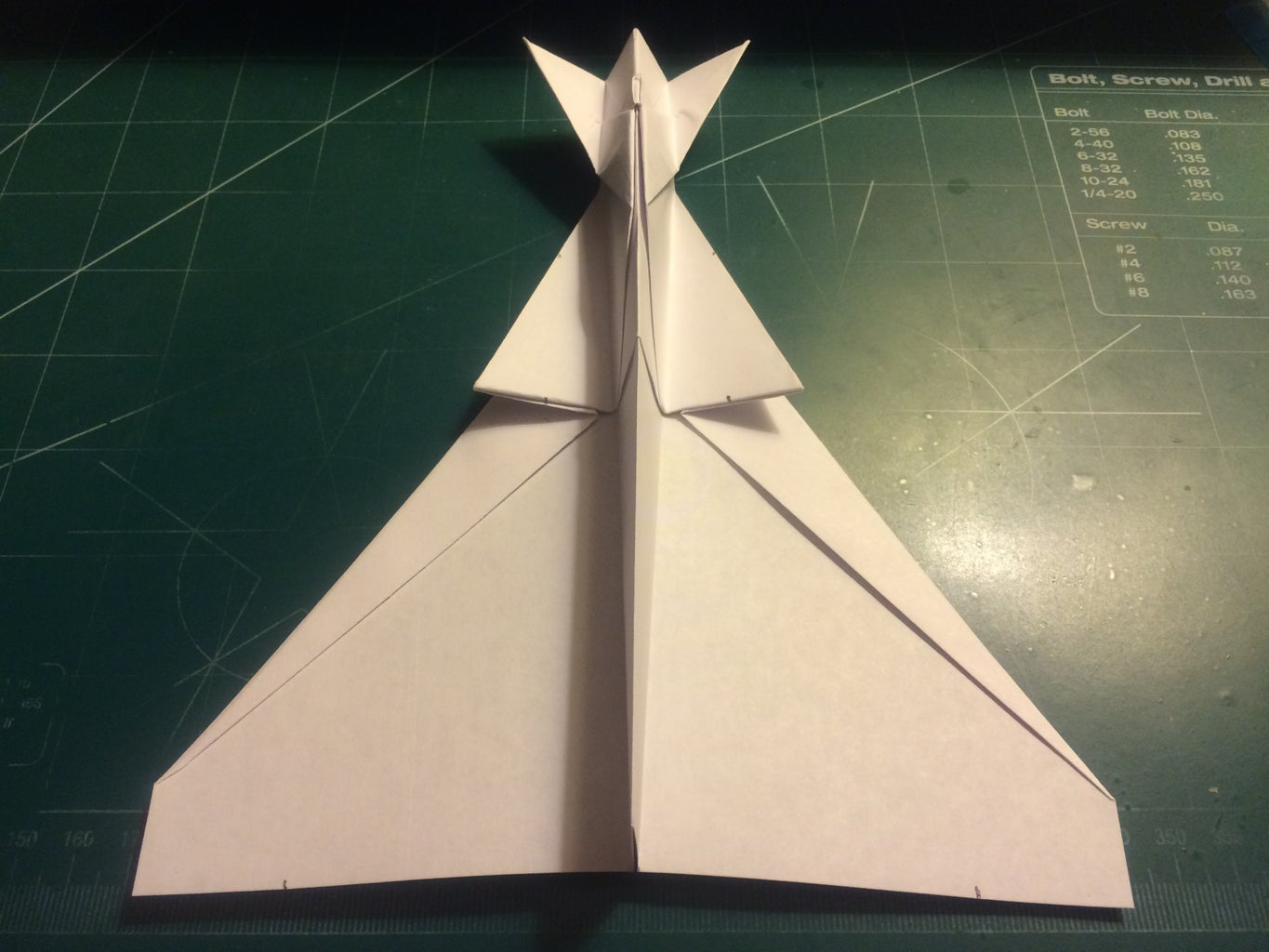 Wing, Winglet and Ventral Stabilizer Folding
