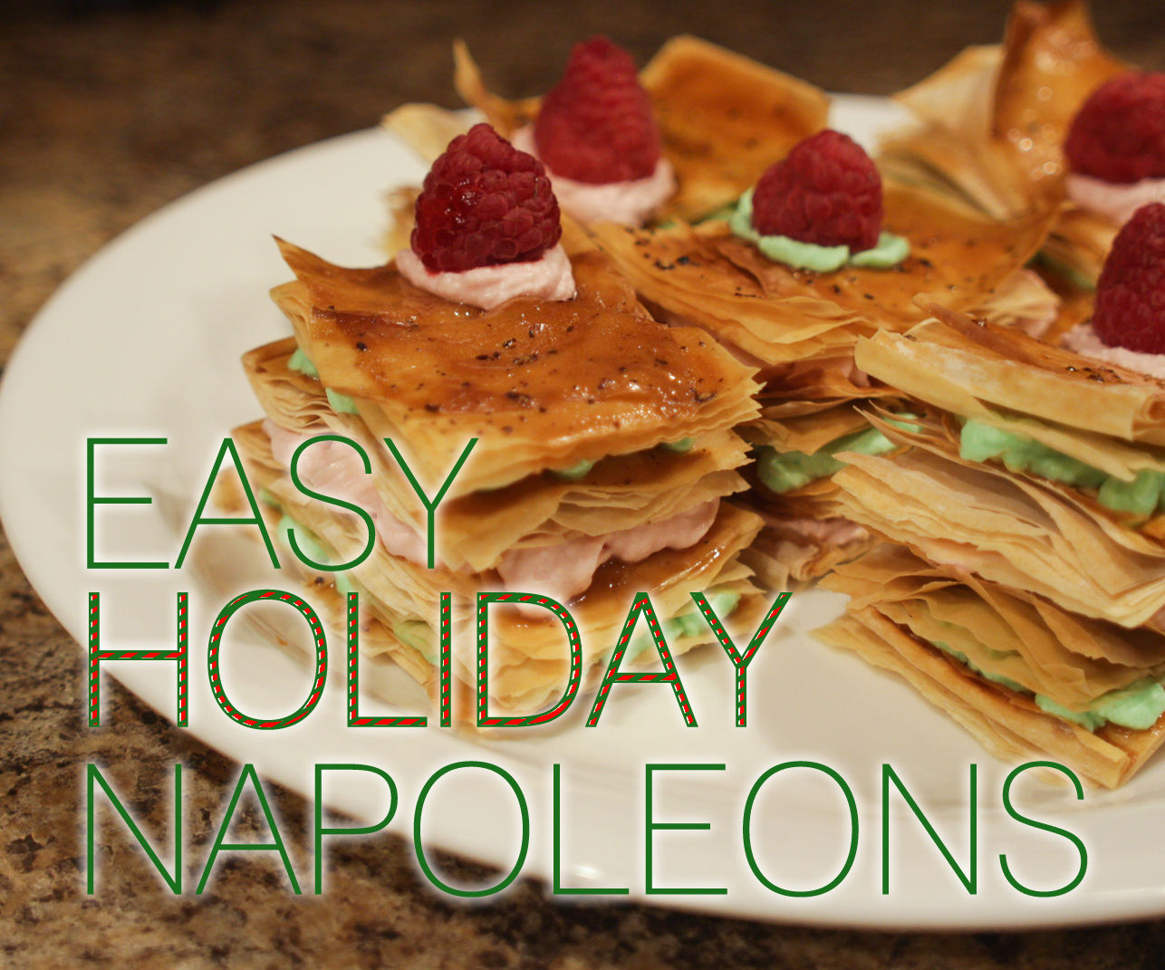 Easy Holiday Napoleons