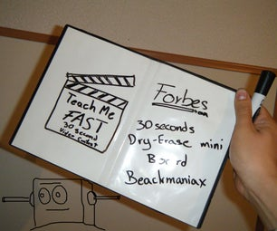 30 Seconds Free Dry-erase Mini Board, Sketch Games or Any Use.