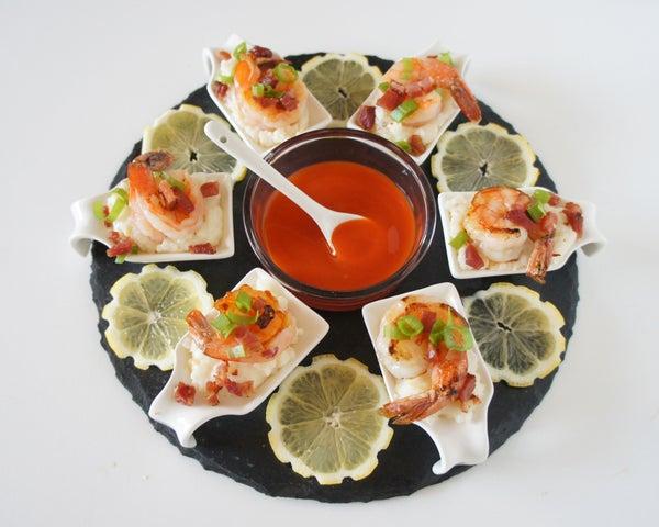 Shrimp 'n' Grits Tasting Spoons