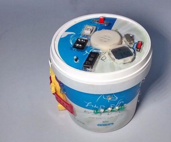 Home-Made LED Bucket Flashlight