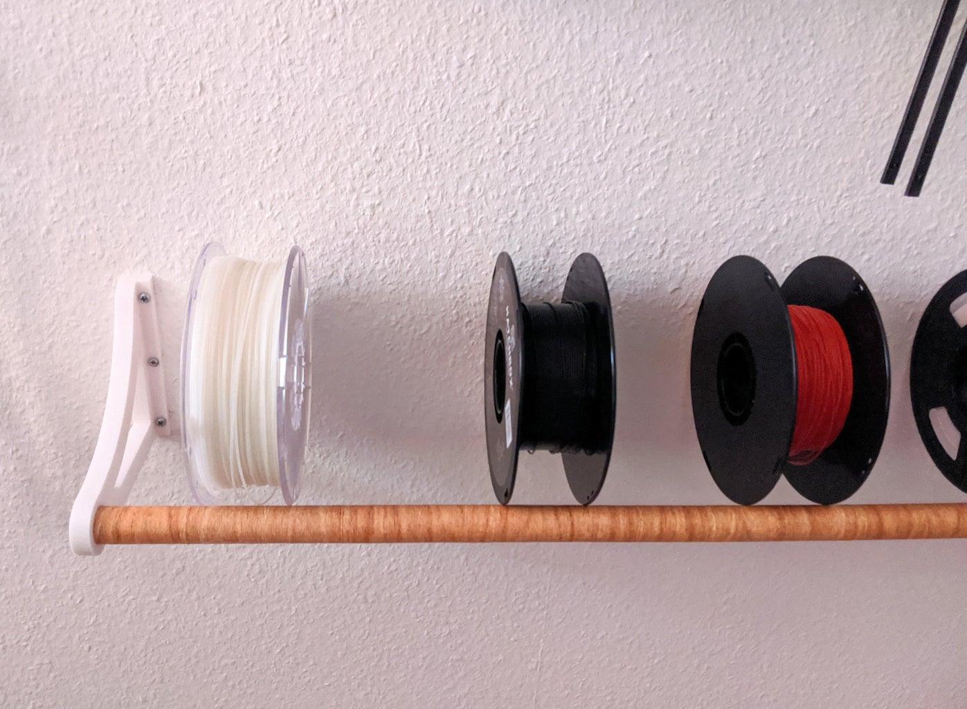 Add Spools to Rack