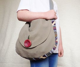 How to Sew a Simple Satchel