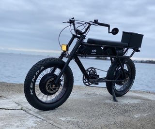 Two Wheel Drive Electric Moped
