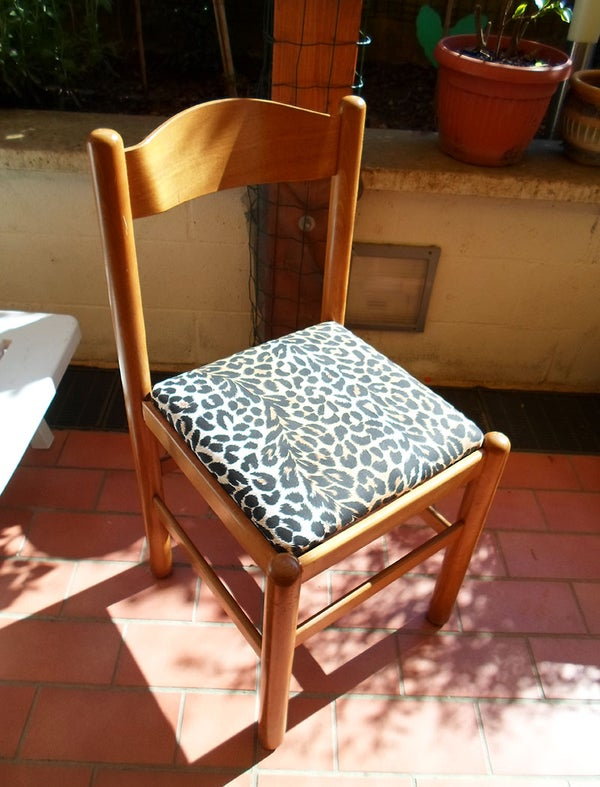 How to Upholster a Chair Seat