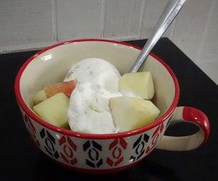 Mouthwatering Apple Icecream Desert in 6 Easy Steps!!!
