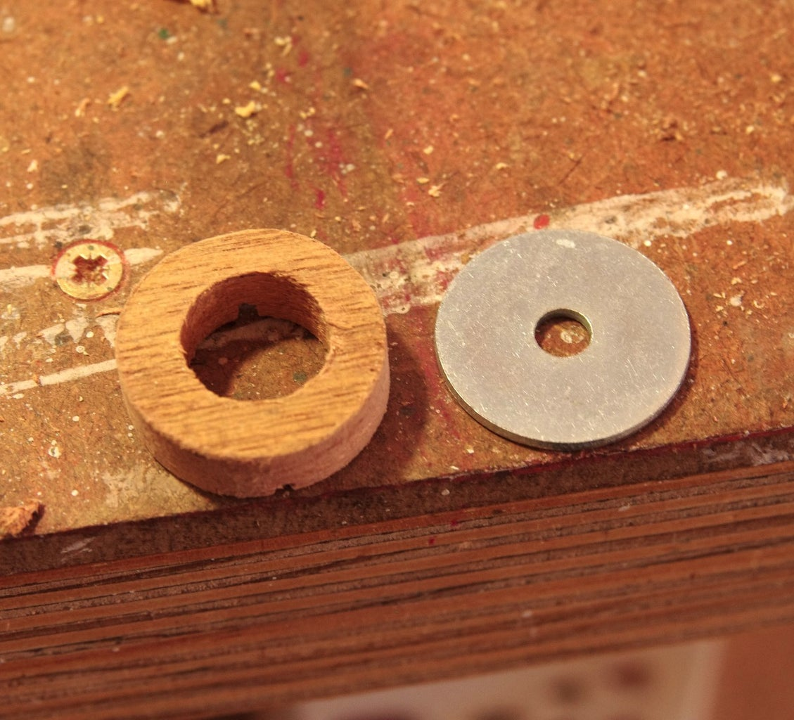 Making the Wooden Rings for the Jaws